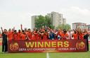 Oranje onder 17 wint in 2011 voor het eerst het EK onder 17.