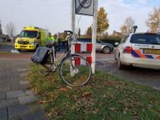 Botsing tussen fietser en auto