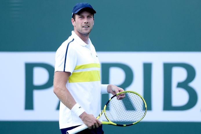 Botic Van De Zandschulp plaatste zich voor het hoofdtoernooi van Indian Wells.