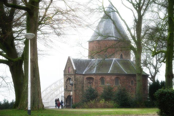 De Nicolaaskapel op het Valkhof in Nijmegen.