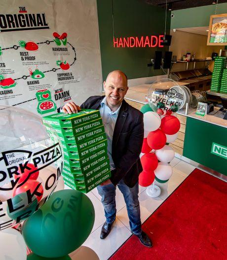 Pizzaliefhebbers kunnen na brand weer terecht bij New York Pizza in Bergen op Zoom