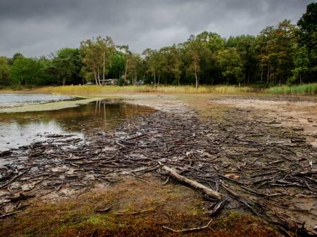 Waterpeil IJzeren Man Vught in jaren niet zo laag geweest: 'Kunnen we straks nog wel zwemmen'