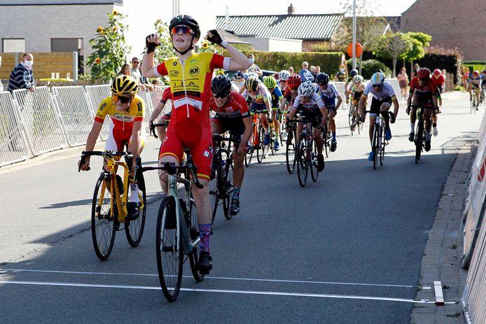 In september van vorig jaar won Siebe De Naeyer in het West-Vlaamse Zerkegem een wedstrijd. Een maand later werd hij nationaal kampioen.