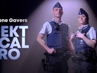 """Agenten Aaron en Kimberley schitteren in nieuwe wervingscampagne politiezone Gavers: """"Word ook een local hero"""""""