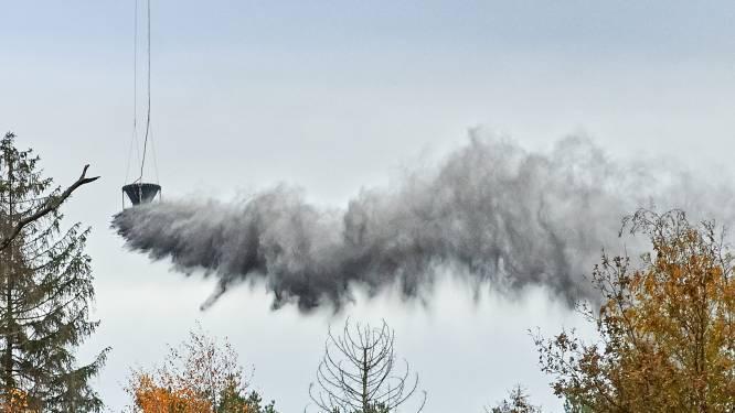 Heli strooit oppepper in verzuurde Maashorst: mineraalrijk steenmeel uit Noorwegen