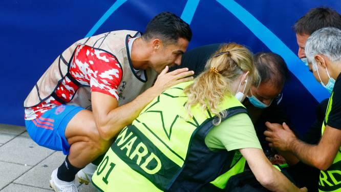 """Amateurbeelden tonen dat steward pegel van Cristiano totaal niet zag aankomen: """"Toen ik hem boven mij zag staan, dacht ik dat ik dood was"""""""