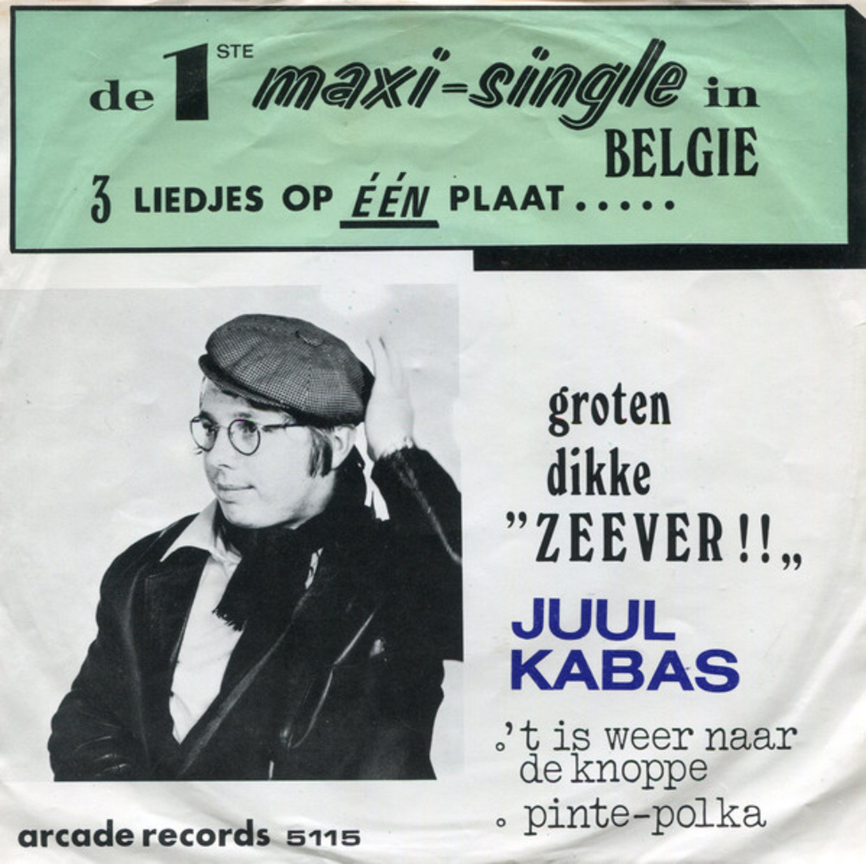 'Zeever!' (1971) van Jules Kabas Beeld Humo