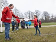 Buitenspelen is gewoon het allerleukste, vindt honderdste scoutinglid Matthias