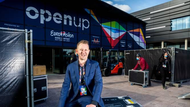 Dave is projectmanager voor het Songfestival: 'Hier sla je een extra vaatje energie voor aan'