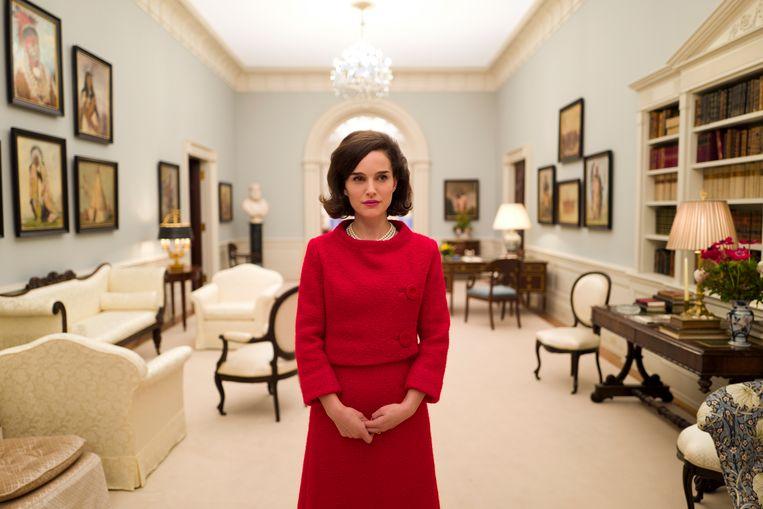 Natalie Portman als Jackie Kennedy in de film 'Jackie'. Beeld rv/Twentieth Century Fox