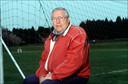 Iconisch voetbalverlsaggever Rik De Saedeleer (1924-2013).