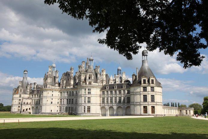 Het Château de Chambord ligt opnieuw in een oranje zone.