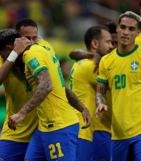 Neymar retrouve le sourire, doublé pour Raphinha: le Brésil écrase l'Uruguay