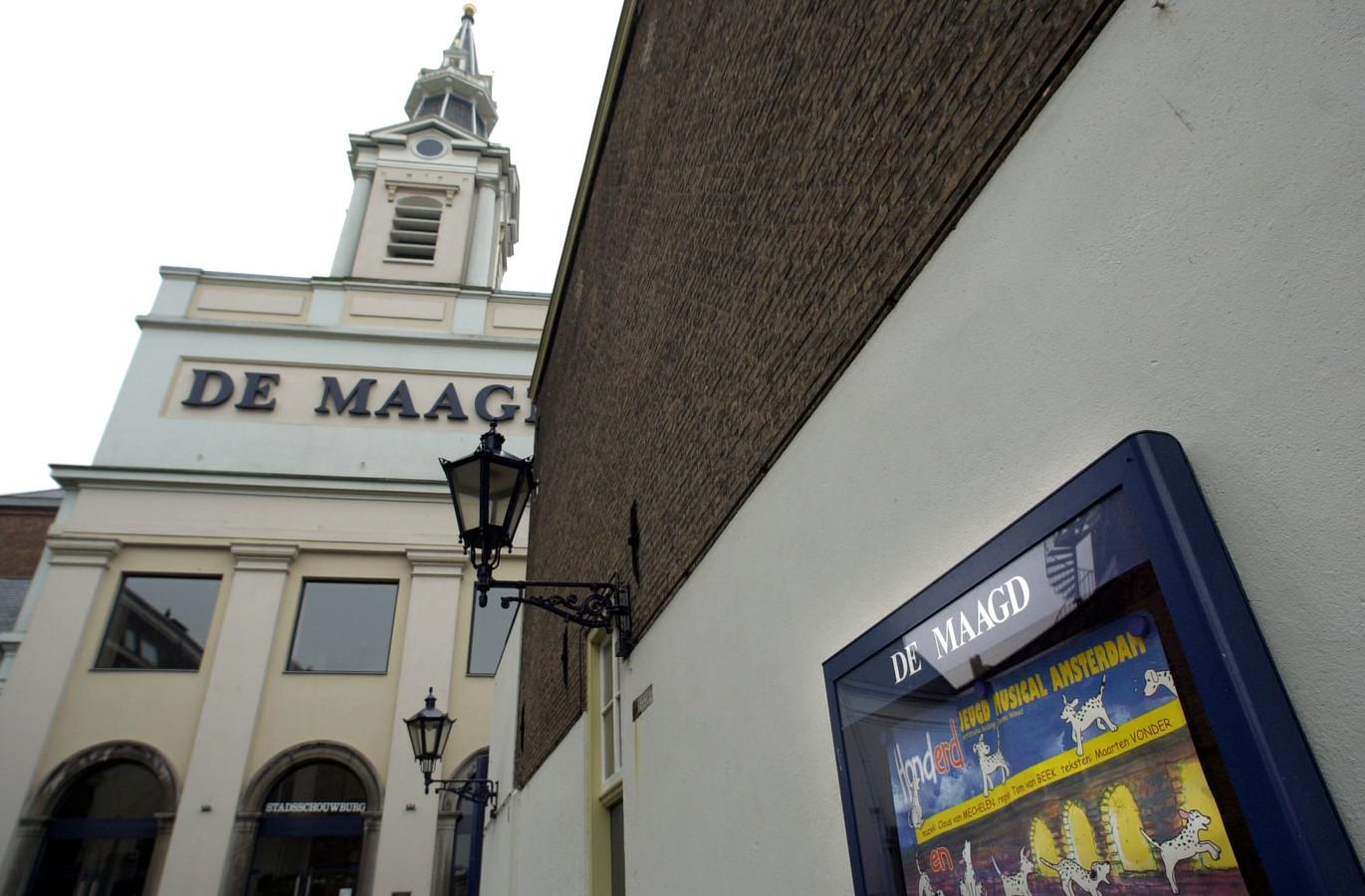De Heilige Maagdkerk in Bergen op Zoom werd eind jaren tachtig omgebouwd tot theater. Een prima herbestemming, meent Erfgoedvereniging Heemschut.