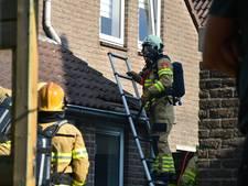 Brand onder dak woning Westervoort