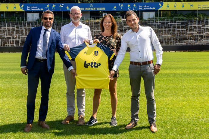 Lotto pronkt dit seizoen op het shirt van Union.