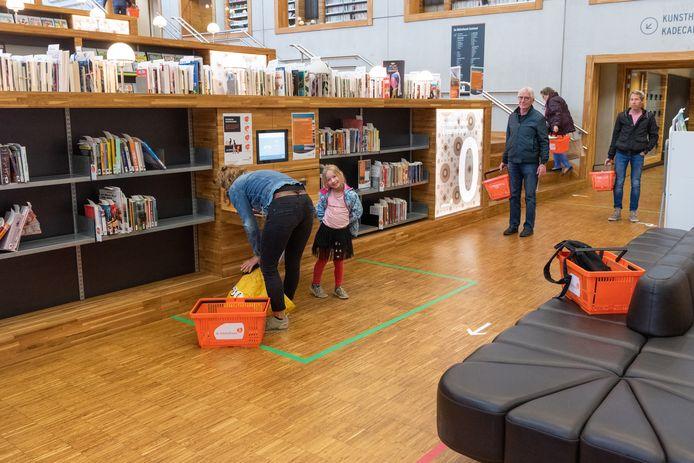Steeds meer bibliotheken gaan weer open.