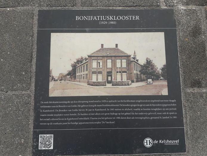 Een foto van het Bonifatiusklooster in Kaatsheuvel, vlakbij het huidige Chalet Fontaine