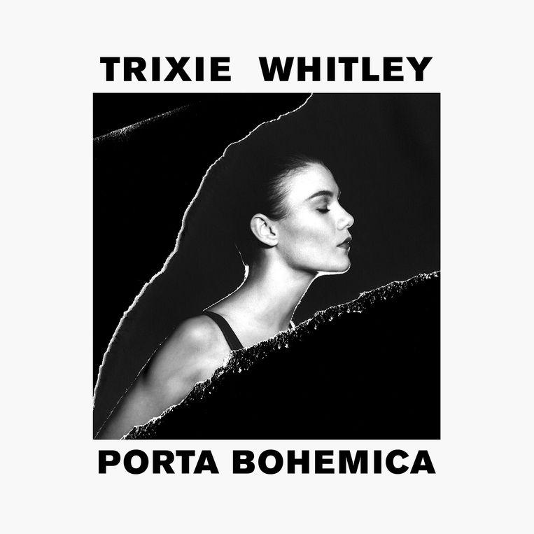 Een albumcover van Trixie Whitley.  Grafisch ontwerper Victor Robyn: 'De herkenbaarheid van muziek is heel belangrijk in deze vluchtige tijden.' Beeld rv