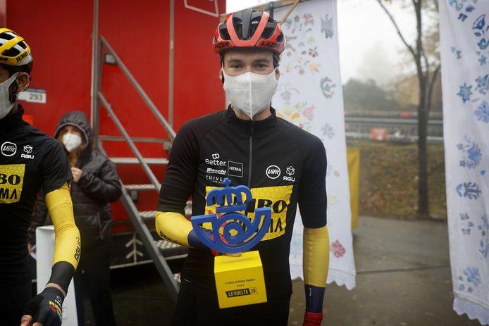 La désillusion du Tour de France semble désormais effacée pour Primoz Roglic: après Liège-Bastogne-Liège, le Slovène remporte son deuxième Grand Tour.