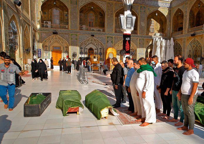 Anderhalve week geleden kwamen bij een aanslag op een markt in Bagdad al dertig mensen om het leven.