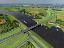 Aanpassingen aan plan Roggebot tussen Dronten en Kampen, maar geen hogere brug