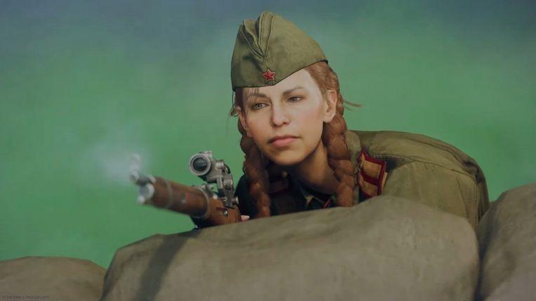Sniper in Call of Duty Vanguard van Activision Blizzard Beeld Activision Blizzarrd