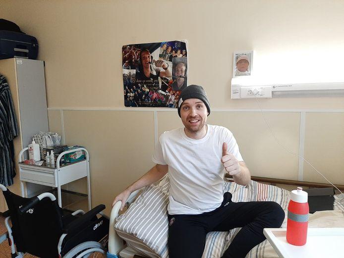 Martijn Meijwaard is sinds zondag in Moskou, waar hij een intensieve stamceltherapie gaat volgen.
