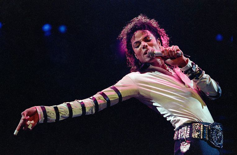 Michael Jackon, 100% zeker King of Pop, iets minder zeker Moonwalk-uitvinder. Beeld AP