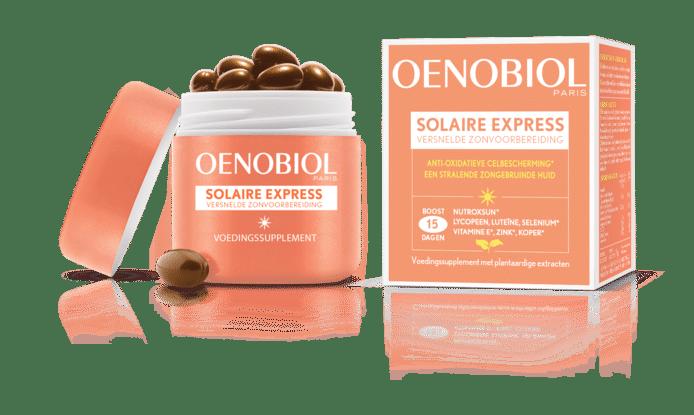 On s'offre un hâle durable avec Oenobiol.