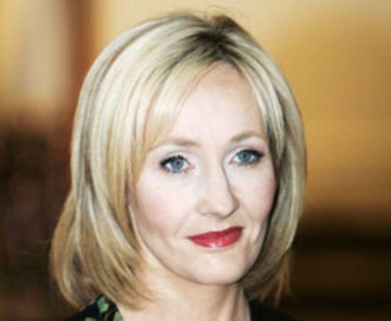 Schrijfster J.K. Rowling. Foto AP Beeld