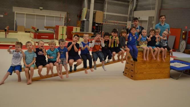 Sport- en jeugddienst pakken uit met sport- en creakamp voor kleuters