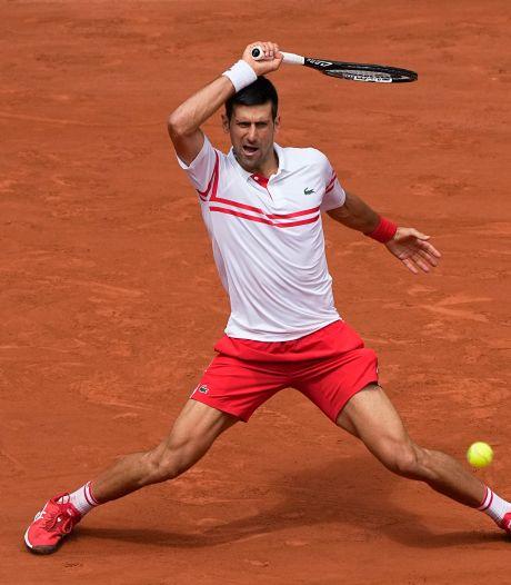 Djokovic komt op Roland Garros goed weg tegen tiener Musetti