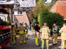 Brand in bijkeuken slaat over naar dak van woning in Zeist