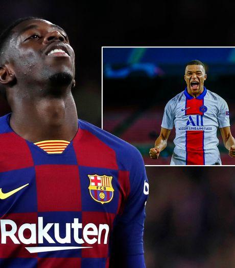 Waar ging het mis met Barça? 'We waren bezig met Mbappé, maar coaches hadden liever Dembélé'