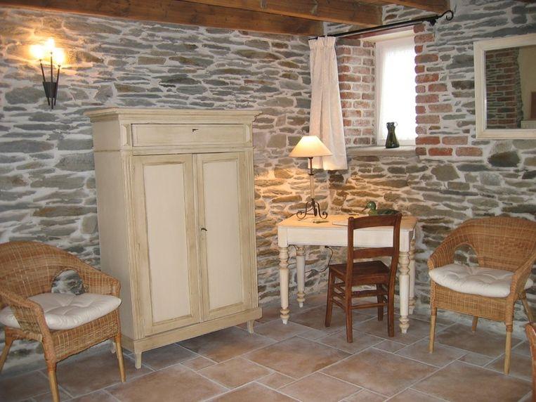Een gezellige en warme woning in Vaux-sur-Sûre. Beeld UNKNOWN