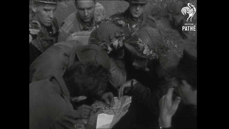 Een gezamenlijke NAVO-oefening in Nederland (1951). Beeld RV