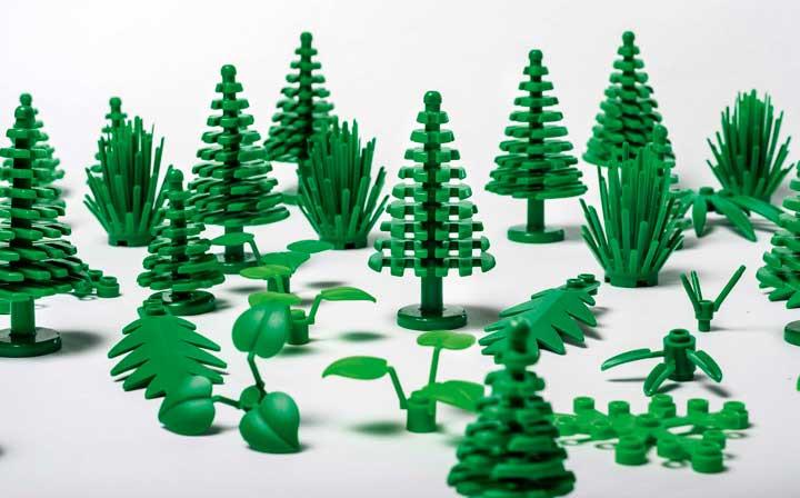 Plants from Plant is lego gemaakt van duurzaam plastic