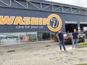 Frank Vekemans (links) en Stefan Felix van Wasin7 bij de vestiging aan de Meerenakkerweg in Eindhoven.
