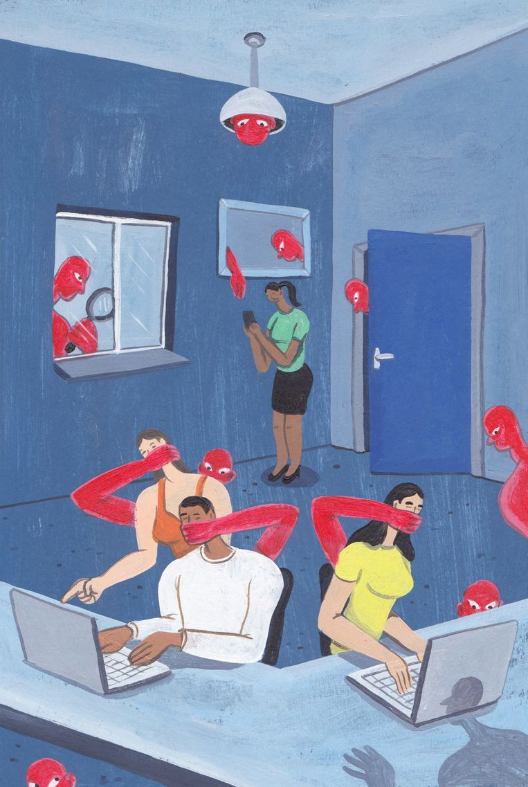 Illustratie China Beeld Brecht Vandenbroucke