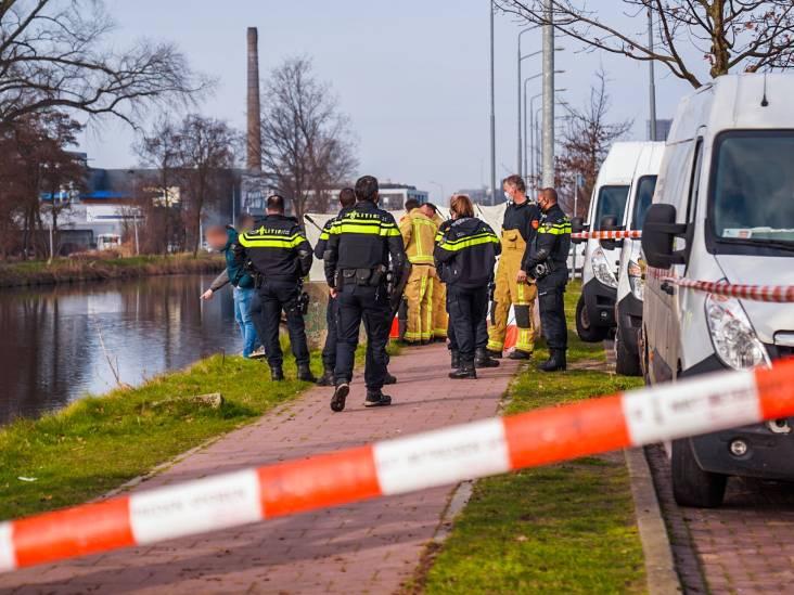 Overleden persoon gevonden in Eindhovensch Kanaal, kade afgezet met linten