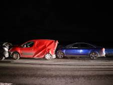Verkeerslichten staan er nauwelijks of het eerste ongeluk op weg Kampen-Dronten is al een feit