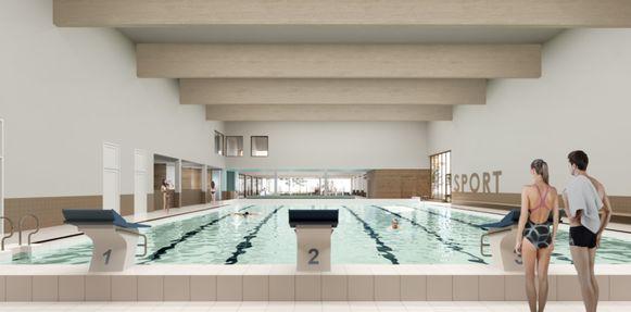 Het 25-meterbad.