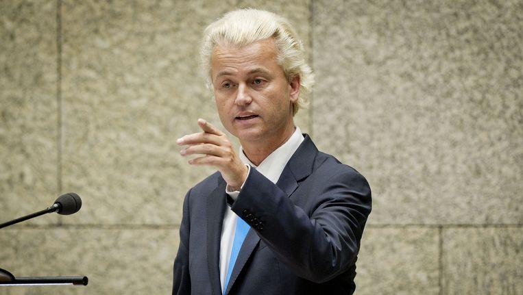 Schnabel: 'Wilders doet uitspraken die niet beantwoorden aan het idee van hoe een politicus zich dient te gedragen.' Beeld ANP