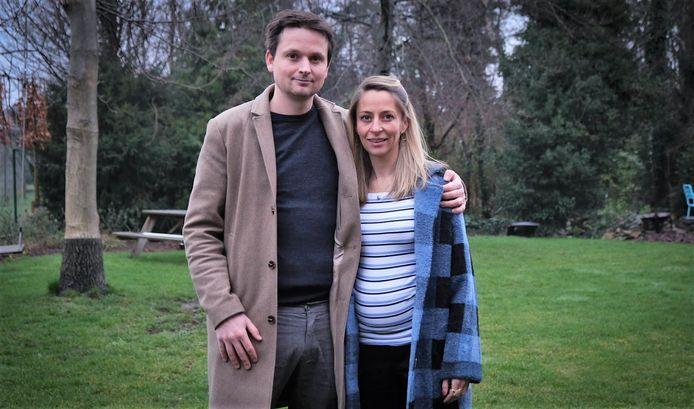 Arne Vandendriessche en zijn zwangere vriendin Valerie Hellebuck