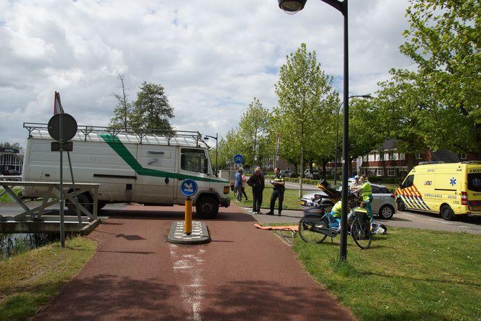 Fietsster aangereden op Halve Zolenpad in Waalwijk