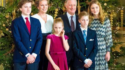 Koninklijk gezin naar Egypte, vlak na de aanslag