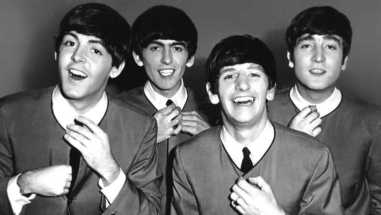 The Beatles in 1963. Beeld GETTY