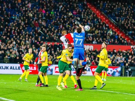 Trefzekere Bozeník verlengt ongeslagen reeks Feyenoord