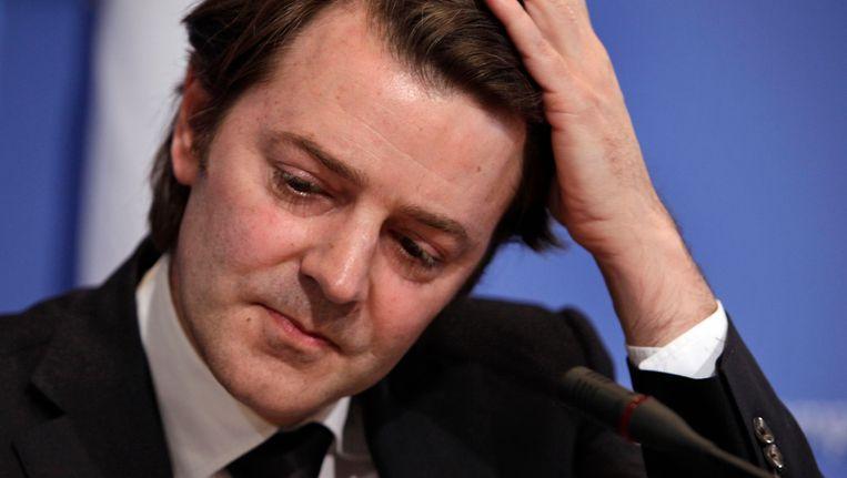 Francois Baroin, één van de ministers die afgeluisterd zou zijn door de NSA.